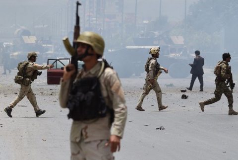 Image Taliban attack Afghan Parliament, Kabul