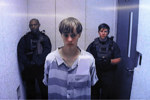 Image Dylann Roof sentenced to death