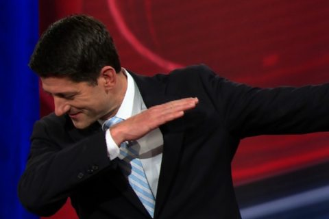 Image Paul Ryan dabbing 01