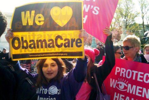 Image obamacare rally