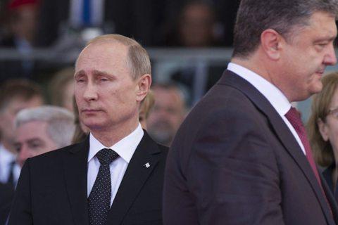 Image Putin Poroshenko
