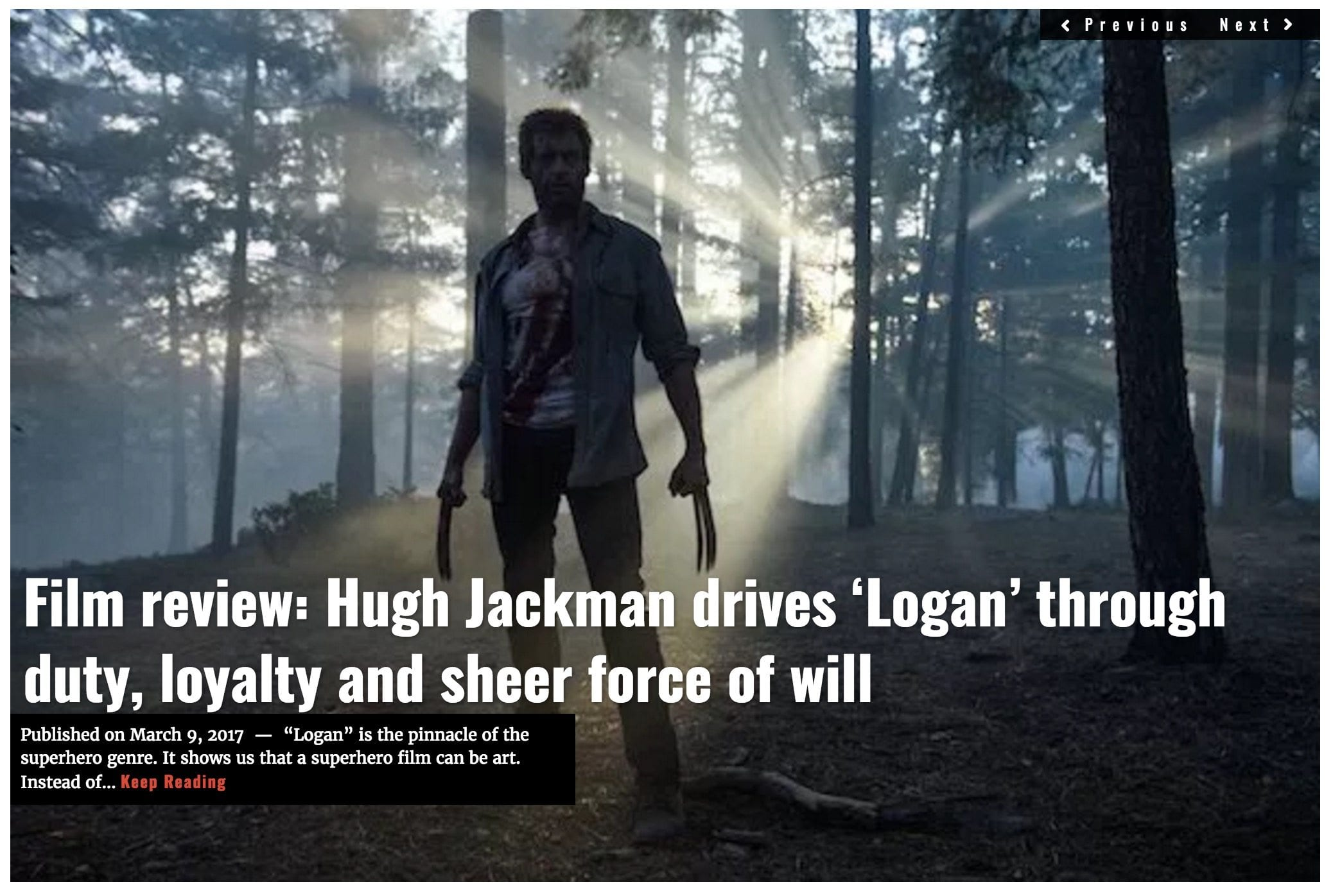 Logan film review