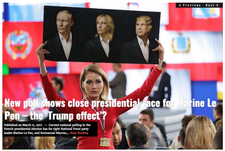 Image Marine Le Pen Lima Charlie headline