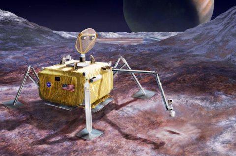 Image NASA Europa Lander
