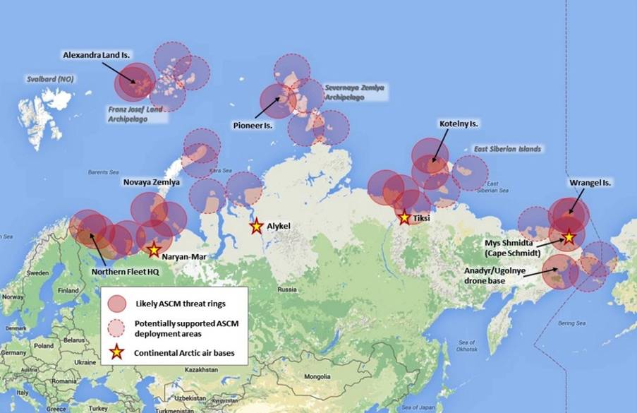 Russia S New Arctic Military Bases