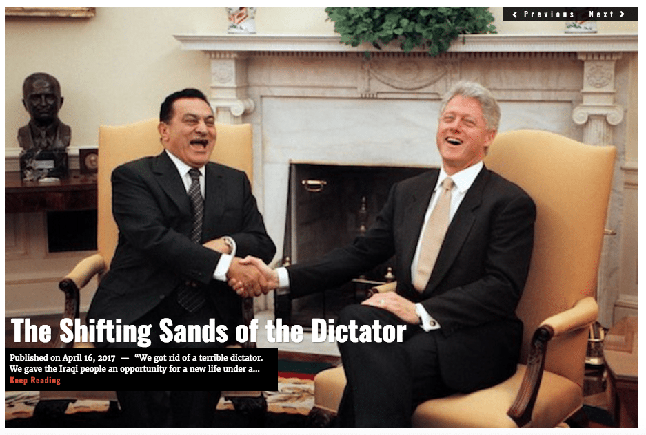 Image Shifting Sands of the Dictator