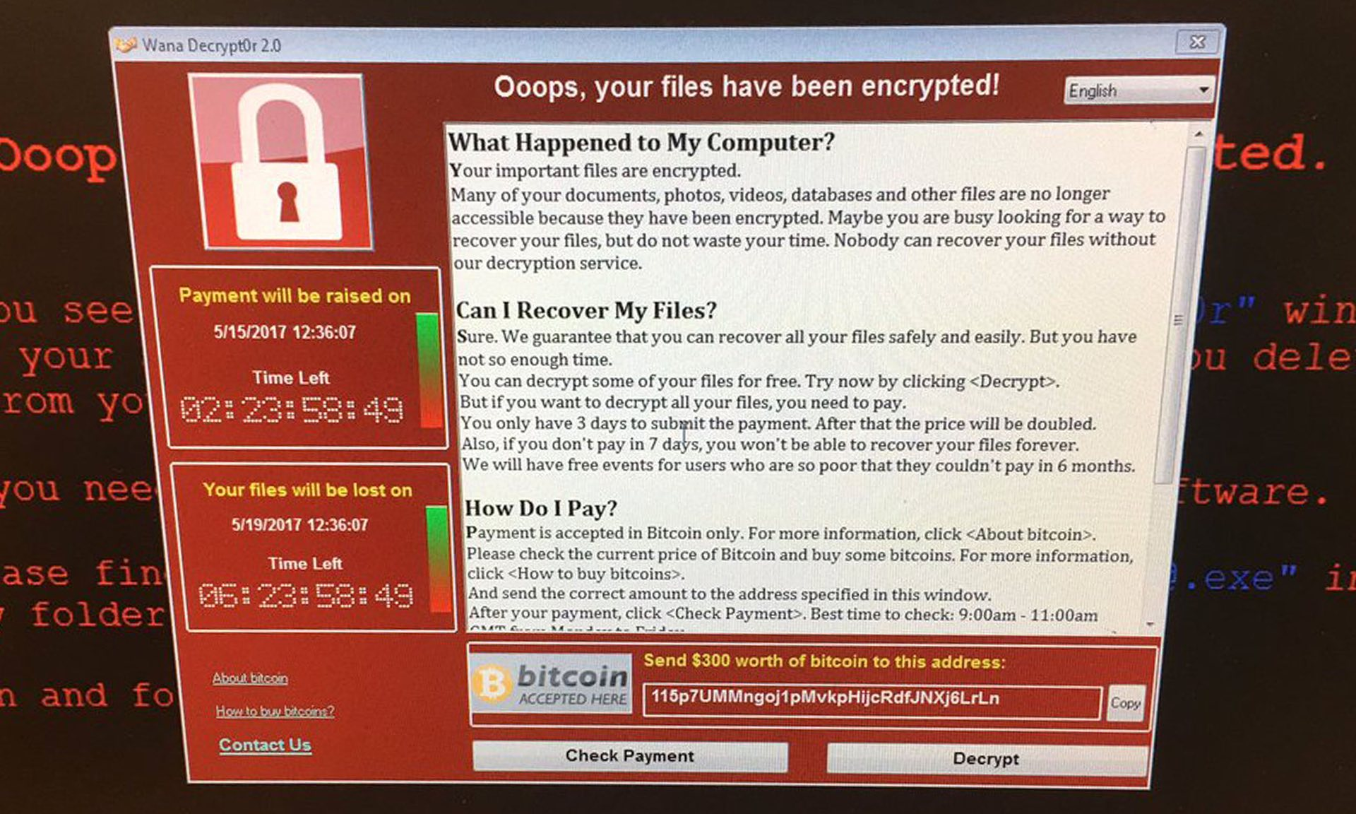 Massive malware attack spreads to 74 countries, concerns rise over ...