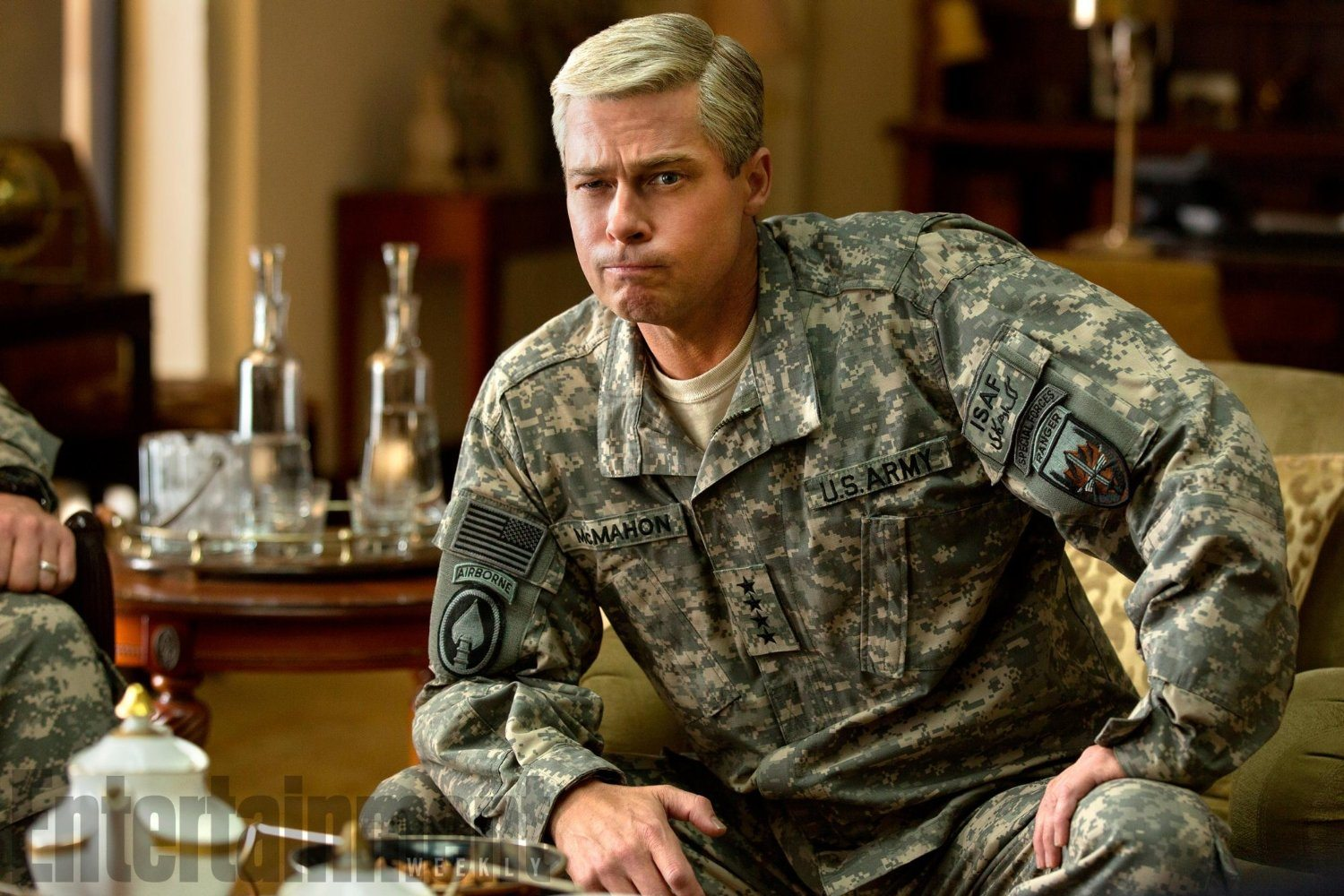 Brad Pitt in War Machine (2017)