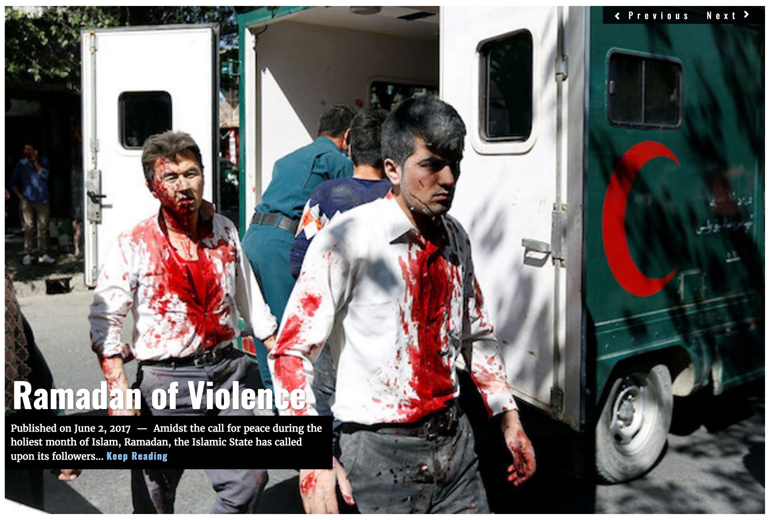 Headline Ramadan of Violence