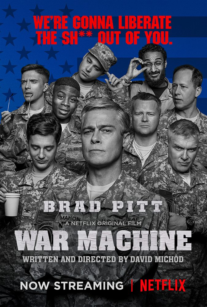 War Machine film poster